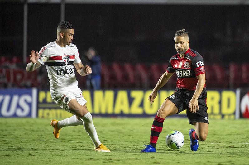 Diego Flamengo x São Paulo