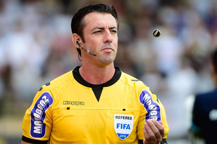 Raphael Claus apita Fla x Inter