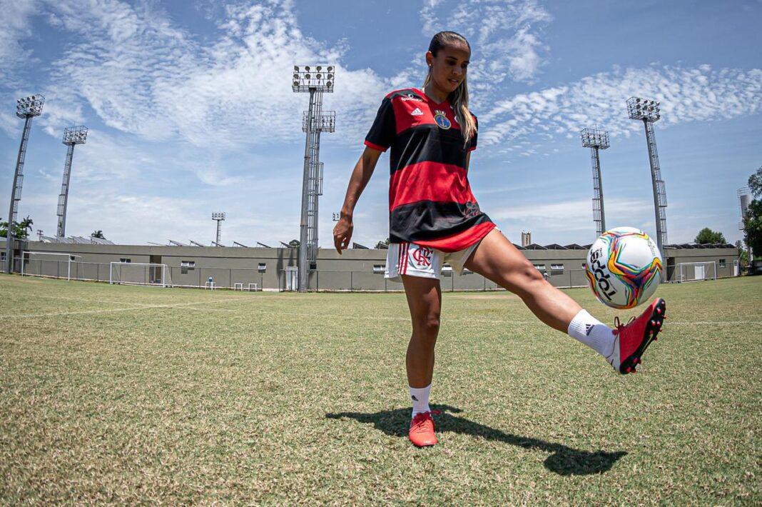 dedê flamengo contratação futebol feminino