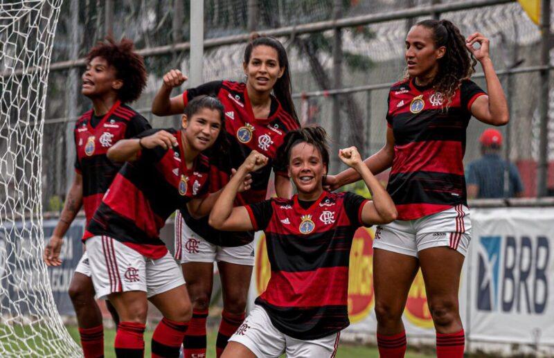 flamengo feminino fluminense carioca 2021