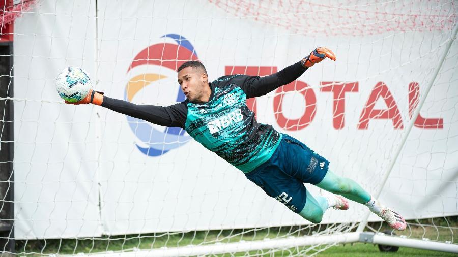 Gabriel Batista Flamengo treino