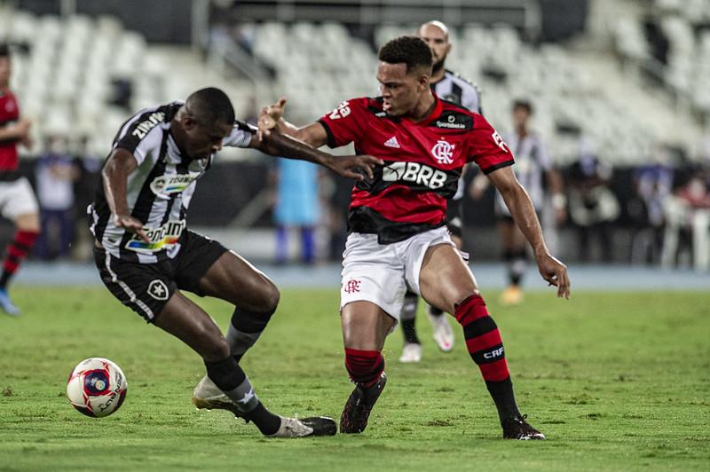 Flamengo e Botafogo Rodrigo Muniz