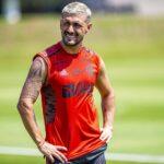 Arrascaeta se reapresenta ao Flamengo
