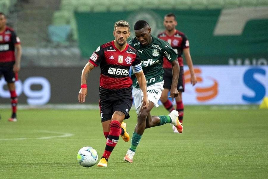 Flamengo e Palmeiras Supercopa