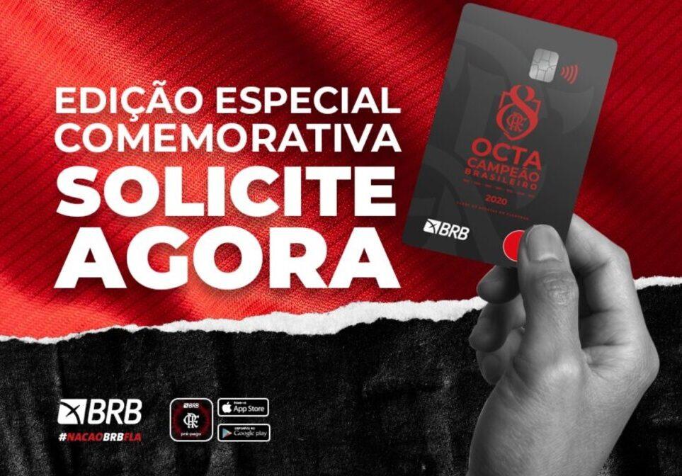 Nação BRB FLA cartão Flamengo