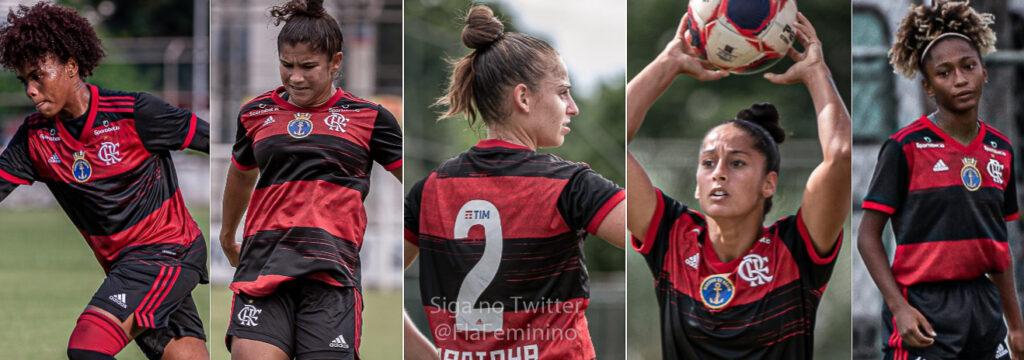 laterais flamengo futebol feminino 2021