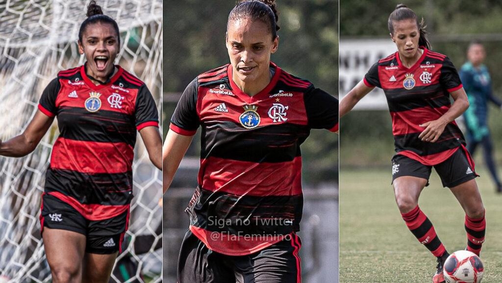 zagueiras flamengo futebol feminino 2021