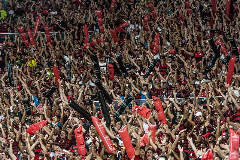 torcida do Flamengo no maracana