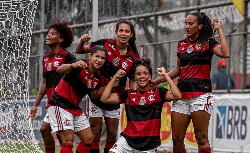 flamengo campeonato brasileiro feminino 2021