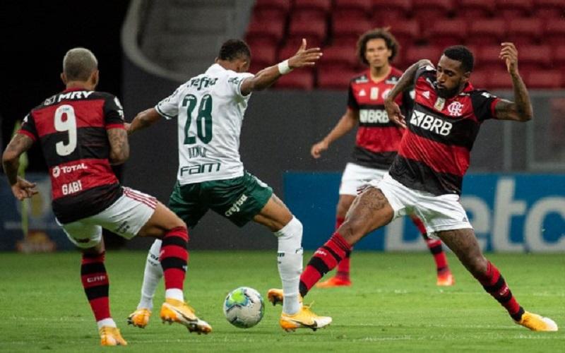 Palmeiras e Flamengo supercopa