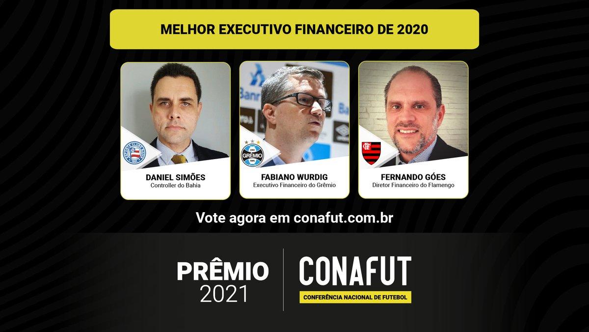 Prêmio CONAFUT 2021 Flamengo