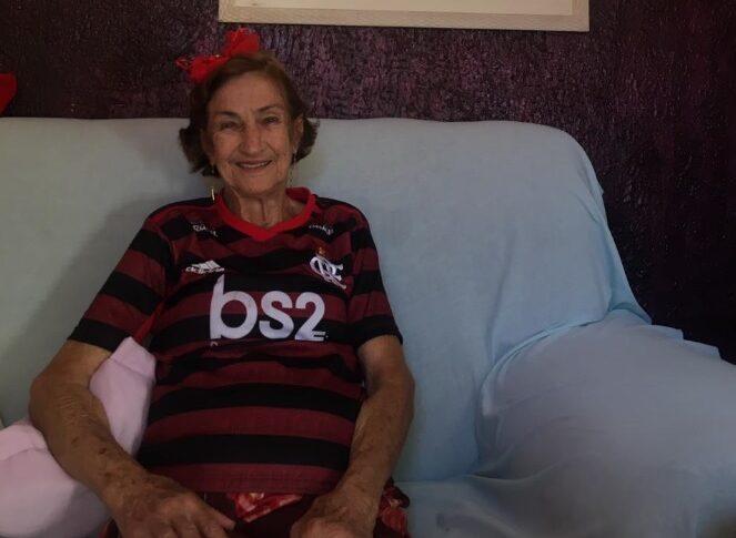 Dona Emília Flamengo Supercopa