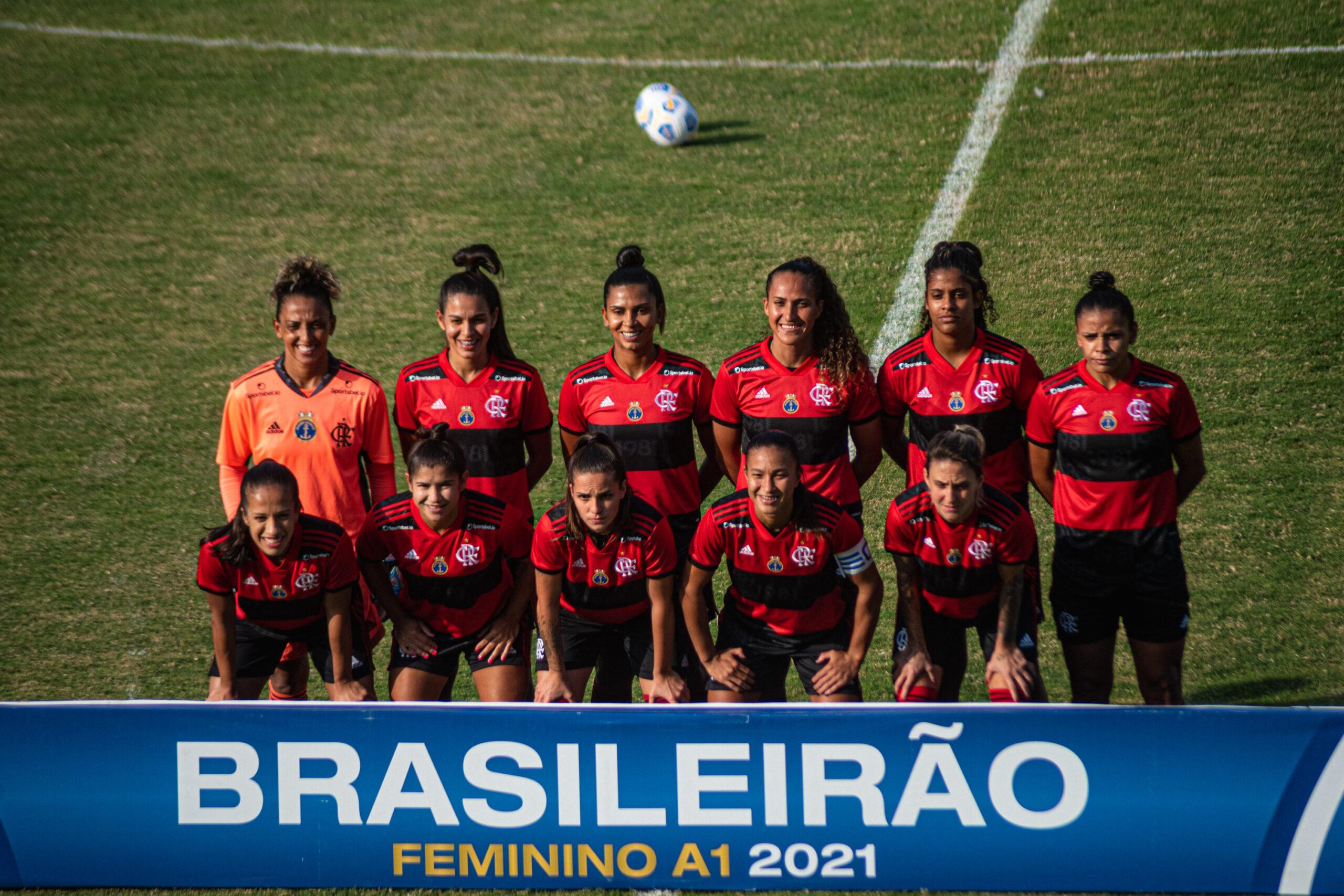 Flamengo cruzeiro feminino
